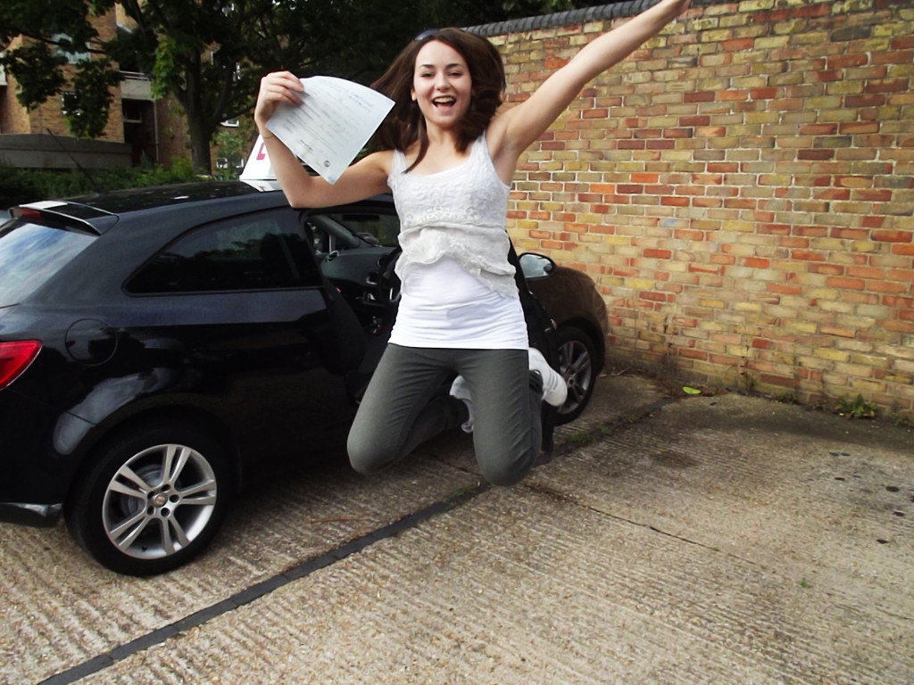 Passed my mofo driving text woo