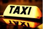 taxi sign logo